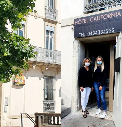 équipe de l'hôtel à Béziers